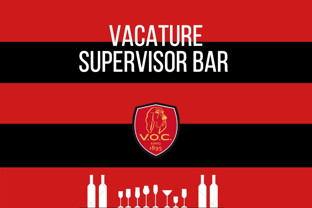 Vacature supervisor bar
