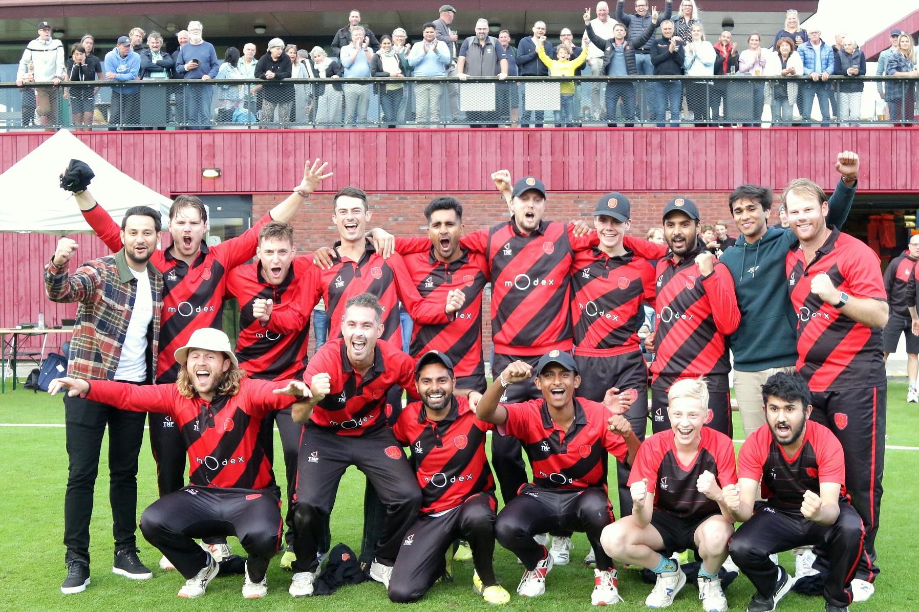 Cricketers Landskampioen Twenty20!
