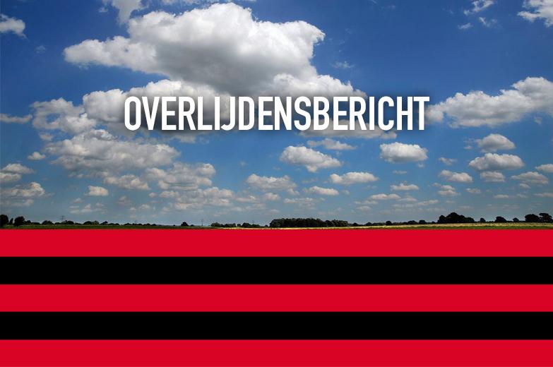 Overleden: Wies van Everdingen - Wagemans