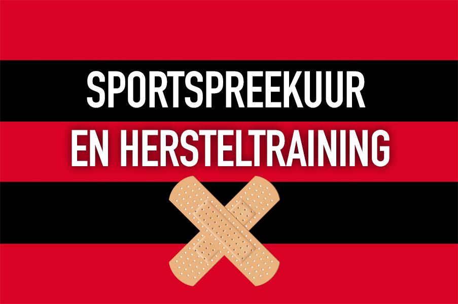 Sportspreekuur en Hersteltraining