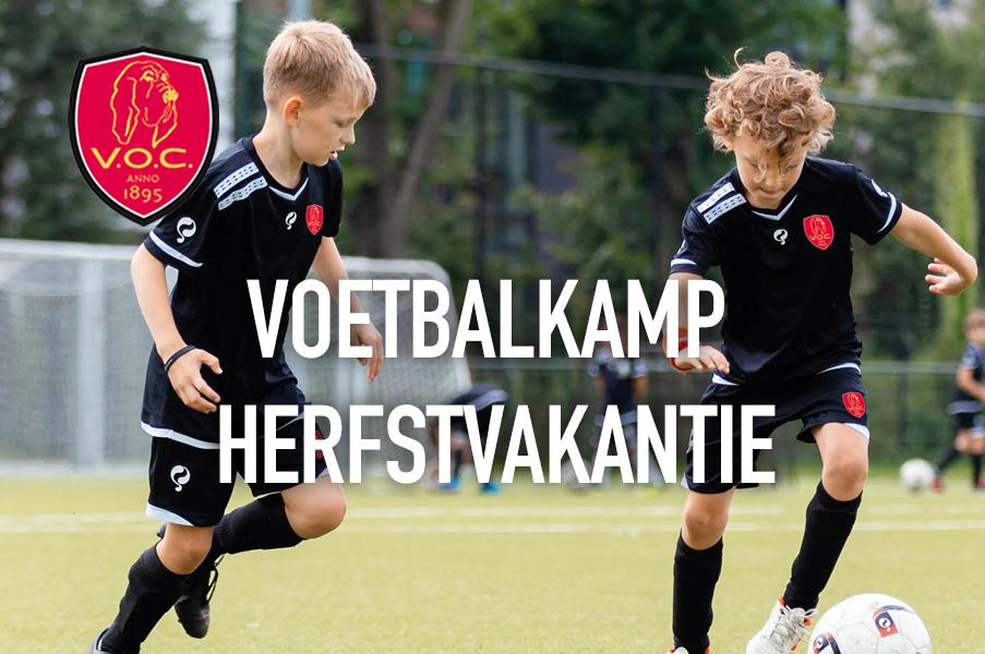 V.O.C. Voetbalkamp 18,19 en 20 oktober